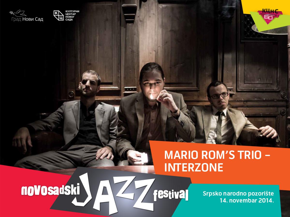 MARIO ROM'S TRIO – INTERZONE